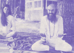 Veda Rama (Gayla) with Ram Dass in 1968